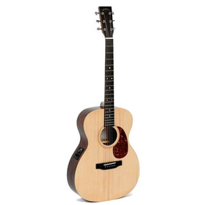 Sigma 000ME+ Electro-Acoustic, Solid Spruce Top, Mahogany Back
