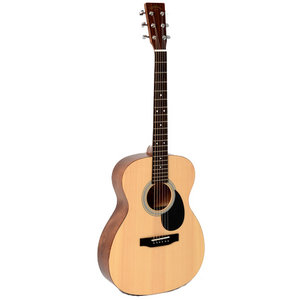 Sigma OMM-ST+, Solid Spruce Top, Mahogany Back