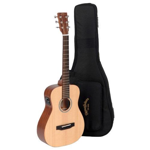 Sigma Sigma TM-12E+ Travel Guitar - Natural w/ Fishman Isys +