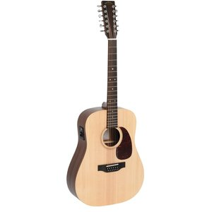 Sigma DM12E+ 12-String Electro, Solid Spruce Top, Mahogany Back