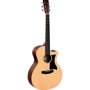 Sigma GMC-STE+ Grand Auditorium Electro, Solid Spruce Top, Mahogany Back, Satin Finish