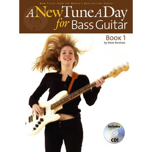 A New Tune A Day: Bass Guitar - Book 1 (CD Edition)