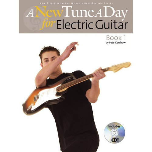 Boston Music A New Tune A Day: Electric Guitar - Book 1 (CD Edition)