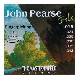Thomastik John Pearse Folk String Set, Nylon Core, .016-.043