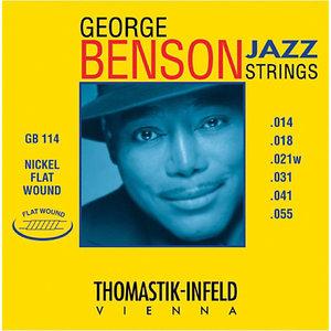 Thomastik George Benson Jazz String Set, Flatwound
