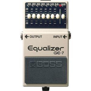 Boss GE-7 Seven-Band EQ Pedal