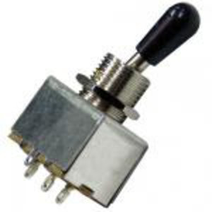 GT 3-Way LP Toggle Switch, Black