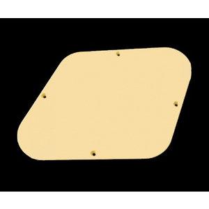 Guitar Man Les Paul Control Plate Cover, Cream