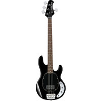 Sterling by Music Man RAY34 Electric Bass, Black w/ 3 Band EQ