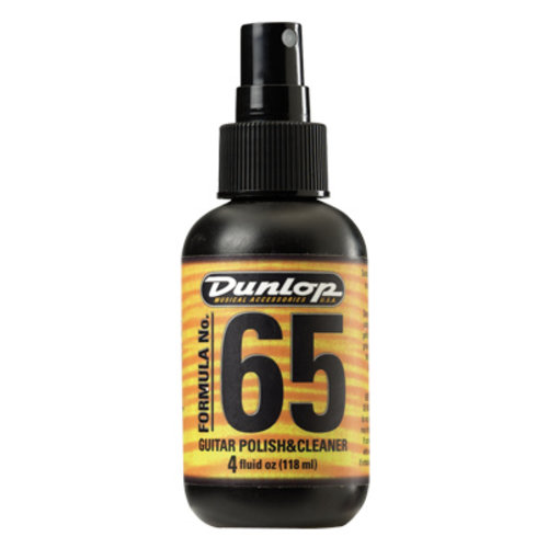 Jim Dunlop Jim Dunlop 654 Formula 65 Cleaner & Polish 4oz