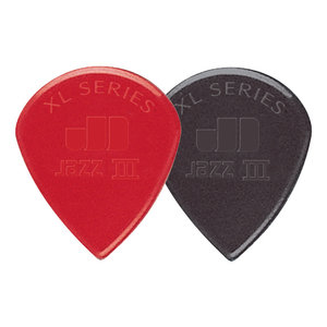 Jim Dunlop Jazz III XL Picks, 6-Pack