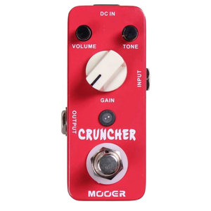 Mooer Cruncher Distortion Pedal