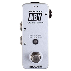 Mooer Micro ABY Switch Pedal