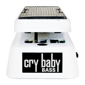 Jim Dunlop Cry Baby Bass Wah Pedal, White