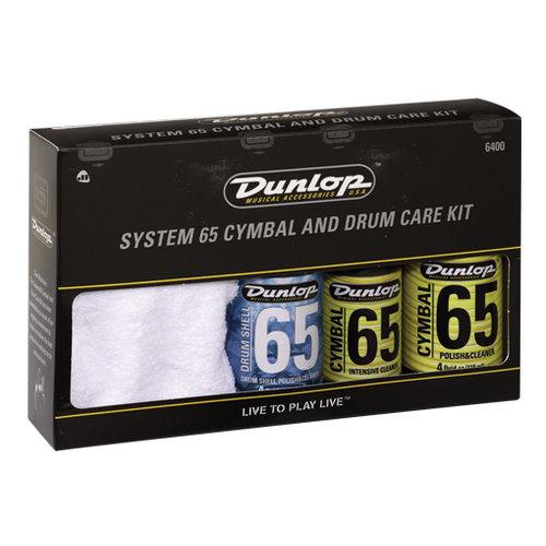 Jim Dunlop Jim Dunlop 6400 Cymbal & Drum Care Kit