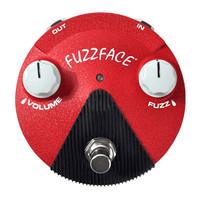 Jim Dunlop Fuzz Face Mini Hendrixm Pedal,  Band of Gypsys