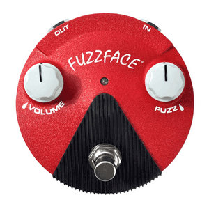 Jim Dunlop Fuzz Face Mini Hendrixm Pedal,  Band of Gypsys