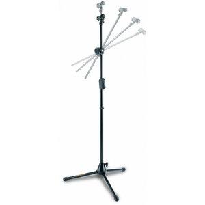 Hercules MS533B EZ Clutch Hideaway Boom Microphone Stand