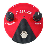 Jim Dunlop Fuzz Face Mini Germanium Pedal, Red