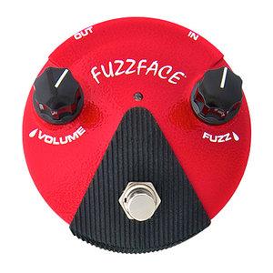 Jim Dunlop Jim Dunlop Fuzz Face Mini Germanium Pedal, Red