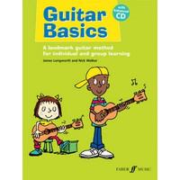 Guitar Basics (Nick Walker / James Longworth) Book/CD