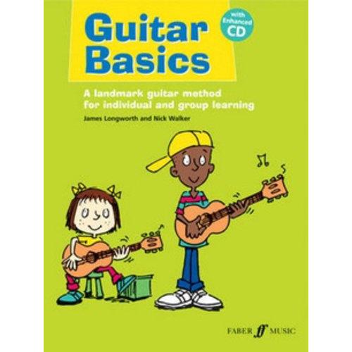 Faber Music Guitar Basics (Nick Walker / James Longworth) Book/CD