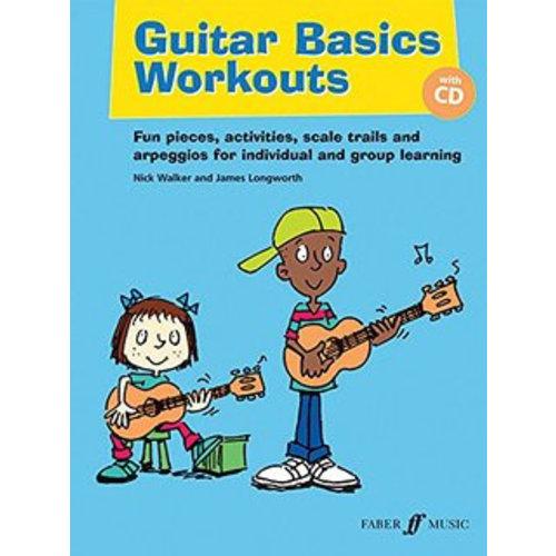 Faber Music Guitar Basics Workouts (Nick Walker / James Longworth) Book/CD