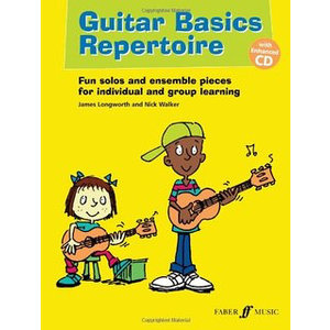 Guitar Basics Repertoire (Nick Walker / James Longworth) Book/CD
