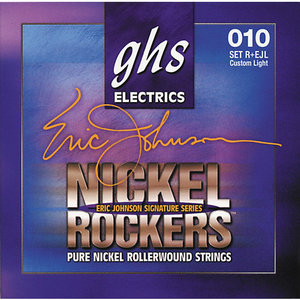 GHS Nickel Rockers Eric Johnson Electric Guitar String Set