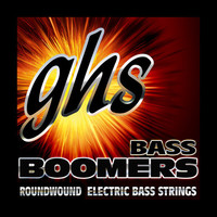 GHS Boomers 5-String Bass String Set, .030-.100