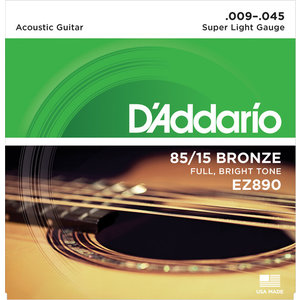 D'Addario American Bronze Acoustic String Set