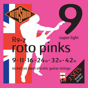 Rotosound Double Decker 2-Pack Electric Guitar String Sets