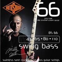 Rotosound Billy Sheehan Signature Bass Guitar String Set, Nickel, .043-.110