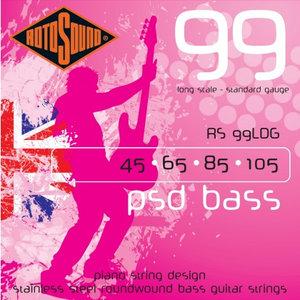 Rotosound PSD Bass Guitar String Set, .045-.105