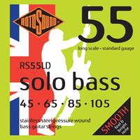 Rotosound Solo Bass 55 Pressurewound String Set