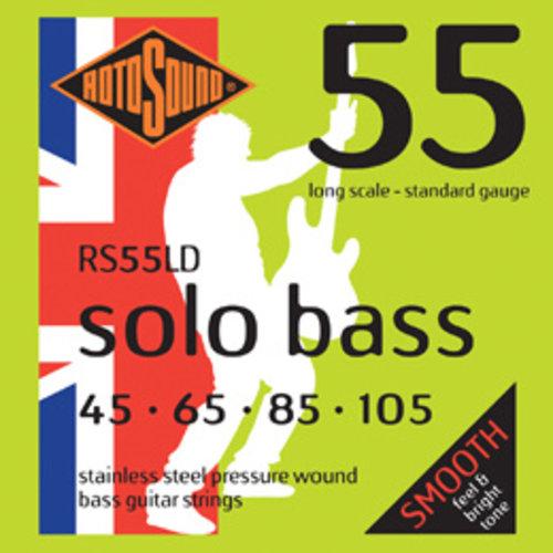 Rotosound Rotosound Solo Bass 55 Pressurewound String Set