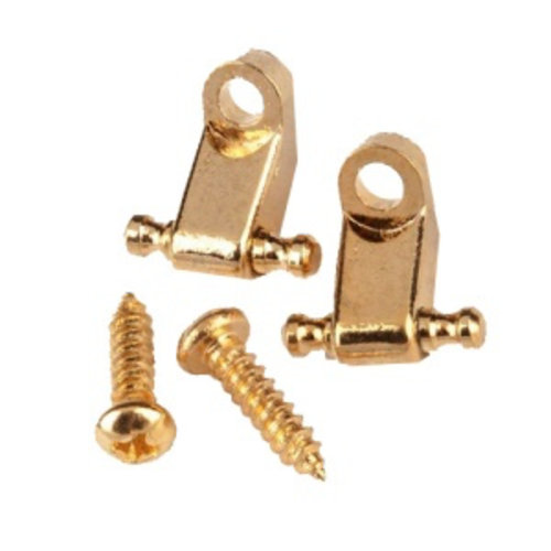 Fender Accessories Fender String Guides, American Standard, Set of 2, Gold