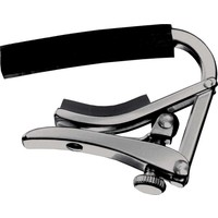 Shubb S1 Deluxe Capo for Steel String Guitars, Stainless Steel