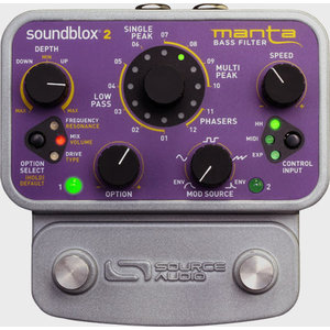 Source Audio SoundBlox2 Manta Bass Filter Pedal