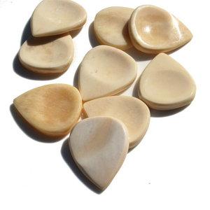Timber Tones Groove Tones Mini Buffalo Bone Plectrum