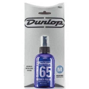 Jim Dunlop Platinum 65 Cleaner Polish with Microfibre Cloth