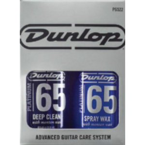 Jim Dunlop Platinum 65 Deep Clean and Spray Wax System