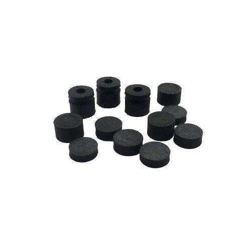 Jim Dunlop Jim Dunlop 3x4 Cry Baby Grommets - 4-Pack