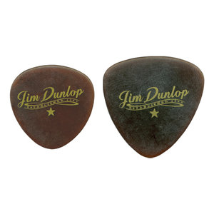 Jim Dunlop Americana Tri Flat Picks, Round, 3 Pack