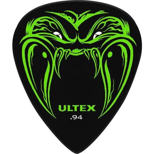 Jim Dunlop Jim Dunlop James Hetfield Black Fang Ultex Picks, 6-Pack