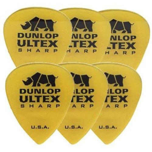 Jim Dunlop Jim Dunlop Ultex Sharp Picks, 6-Pack
