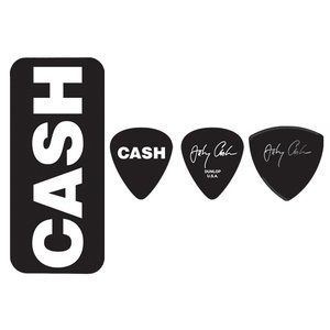Jim Dunlop Johnny Cash Bold Pick Tin