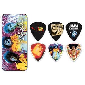Jim Dunlop Jimi Hendrix Are You Experienced? Pick Tin