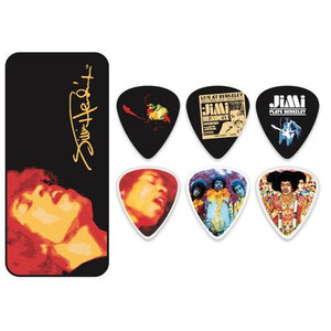 Jim Dunlop Jimi Hendrix Electric Ladyland Pick Tin
