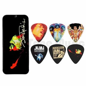 Jim Dunlop Jimi Hendrix Band of Gypsys Pick Tin